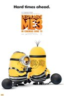 3D Despicable Me 3 movie poster